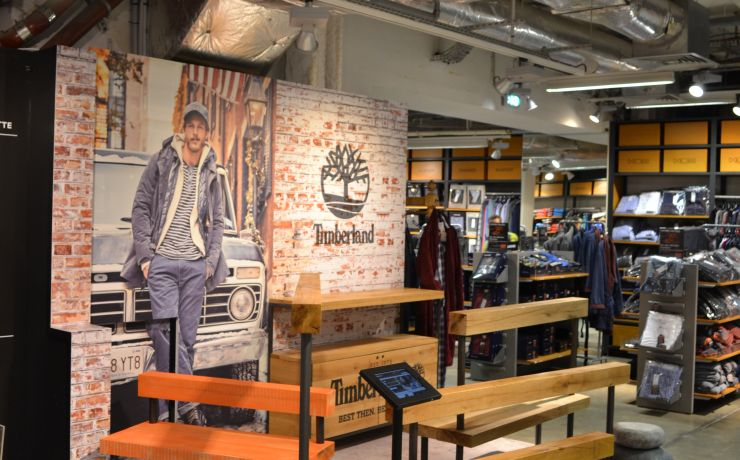 Timberland Pop-Up